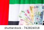 united arab emirates dirham... | Shutterstock . vector #762826018