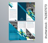 brochure design  brochure... | Shutterstock .eps vector #762837073