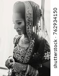 stunning indian bride dressed... | Shutterstock . vector #762934150
