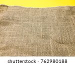 texture of coarse cloth with... | Shutterstock . vector #762980188