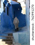 chefchaouen  morocco   october... | Shutterstock . vector #762991270