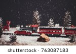 Christmas Toy Train With...