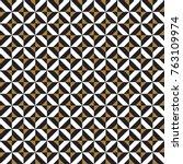 seamless vector vintage... | Shutterstock .eps vector #763109974