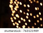 blurred night city background   Shutterstock . vector #763121989