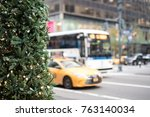 Christmas Tree In New York Wit...