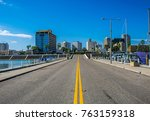 middle of the road in corpus... | Shutterstock . vector #763159318