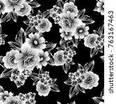 abstract elegance seamless... | Shutterstock .eps vector #763167463
