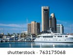 living on the water corpus... | Shutterstock . vector #763175068