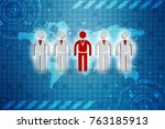 3d people   men  person in... | Shutterstock . vector #763185913