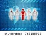 3d people   men  person in... | Shutterstock . vector #763185913