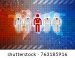 3d people   men  person in... | Shutterstock . vector #763185916