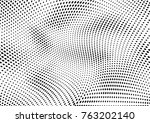 abstract halftone dotted grunge ... | Shutterstock .eps vector #763202140