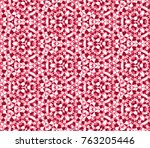 abstract geometric background ... | Shutterstock .eps vector #763205446