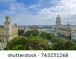 old havana  unesco world... | Shutterstock . vector #763251268