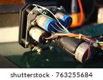 the servos are components of... | Shutterstock . vector #763255684