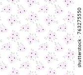 seamless floral pattern....   Shutterstock .eps vector #763275550