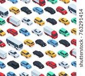Urban Cars Seamless Texture....