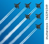 Military Fighter Jets With...