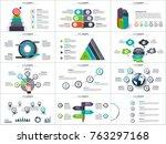vector infographics   diagram... | Shutterstock .eps vector #763297168