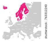 scandinavian states denmark ...   Shutterstock .eps vector #763312240