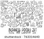 set of business illustration... | Shutterstock .eps vector #763314640