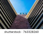 abstract view of a skyscraper | Shutterstock . vector #763328260