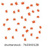 Wallpaper Of The Momiji Leaf