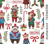 watercolor illustrations of... | Shutterstock . vector #763360588