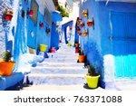 traditional moroccan... | Shutterstock . vector #763371088