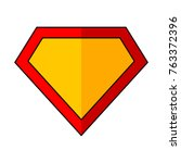bright superhero color logo on... | Shutterstock .eps vector #763372396