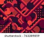 abstract background  patten ...   Shutterstock . vector #763389859