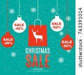 shopping bag design background. ...   Shutterstock .eps vector #763391014