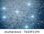 3d illustration  abstract...   Shutterstock . vector #763391194