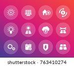 solar energy vector icons ...