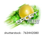 abstract background  text...   Shutterstock .eps vector #763442080