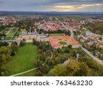castle lednice in czech... | Shutterstock . vector #763463230