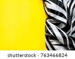 light elegant transparent gas... | Shutterstock . vector #763466824