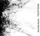 abstract grunge grid polka dot... | Shutterstock .eps vector #763470346
