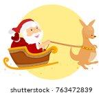 illustration of a summer... | Shutterstock .eps vector #763472839