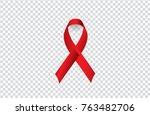world aids day  vector... | Shutterstock .eps vector #763482706