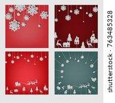 set vector illustration of a... | Shutterstock .eps vector #763485328