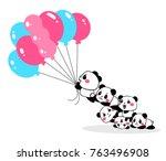 vector illustration of lovely...   Shutterstock .eps vector #763496908