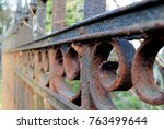 Iron Gates At The Cemetery ...