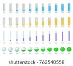 vector set illustration with...   Shutterstock .eps vector #763540558