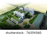 3d render of a building | Shutterstock . vector #76354360