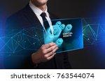 business  technology  internet...   Shutterstock . vector #763544074