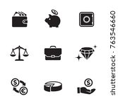 money  finance  payments icons... | Shutterstock .eps vector #763546660