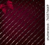 christmas vector background... | Shutterstock .eps vector #763576669