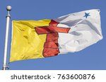 National flag of the Nunavut province in Canada