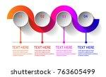 four steps iinfographics   can... | Shutterstock .eps vector #763605499